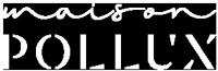 M42, nos réalisations - Logo Maison Pollux blanc