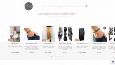 M42 - Création du site e-commerce Loft 45, coups de coeur styliste